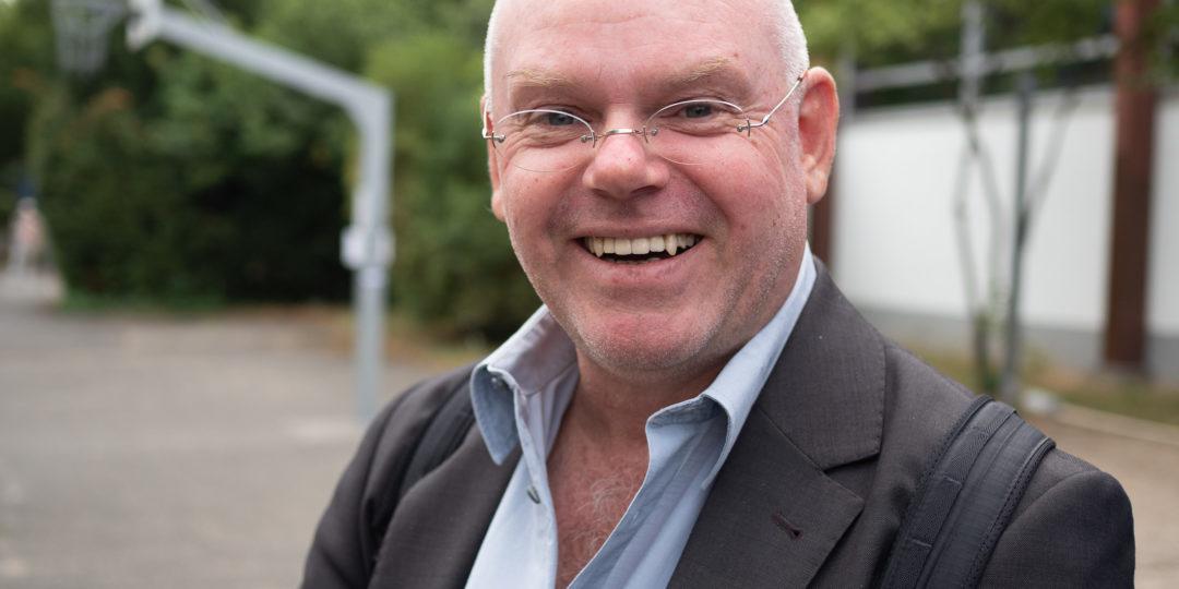 Stefan Fricke. Laudator. Foto: Martin Hufner