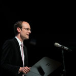 2014: Preisverleihung an Benedikt Leßmann. Foto: Petra Basche